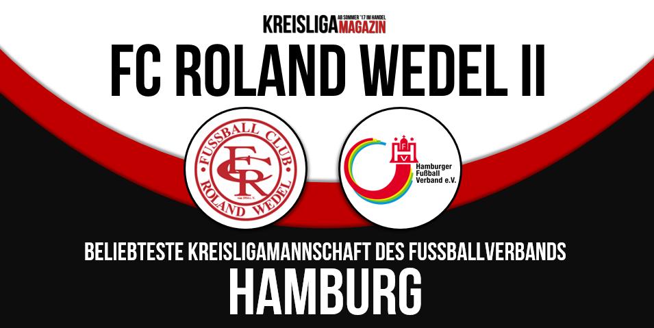 Roland Wedel 2. ist Hamburgs beliebteste Kreisligamannschaft Hamburgs © Kreisliga Magazin