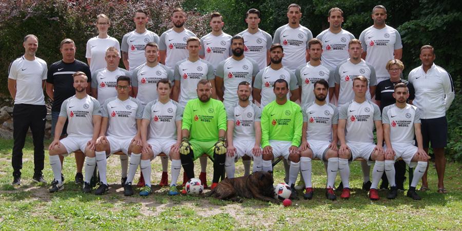 FC Roland Wedel Liga-Mannschaft in der Bezirksliga West