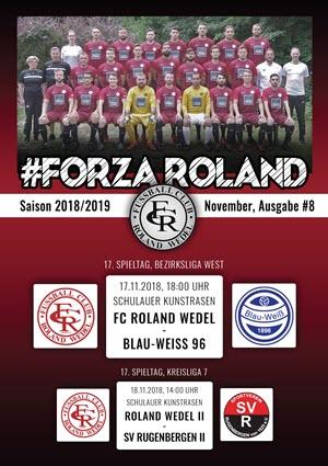 FORZA Roland 2018-19 Ausgabe 08
