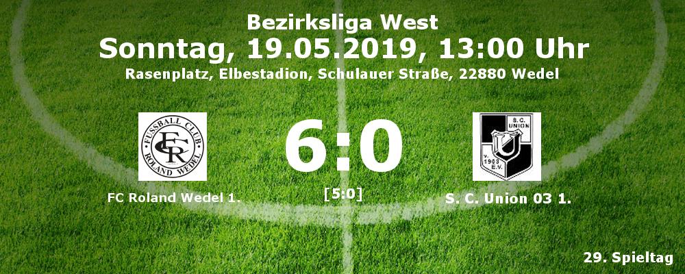 Roland Wedel I - Union 03 I am 19.05.2019