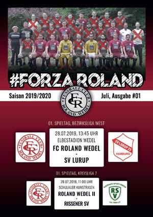 FORZA Roland 2019-20 Ausgabe 01