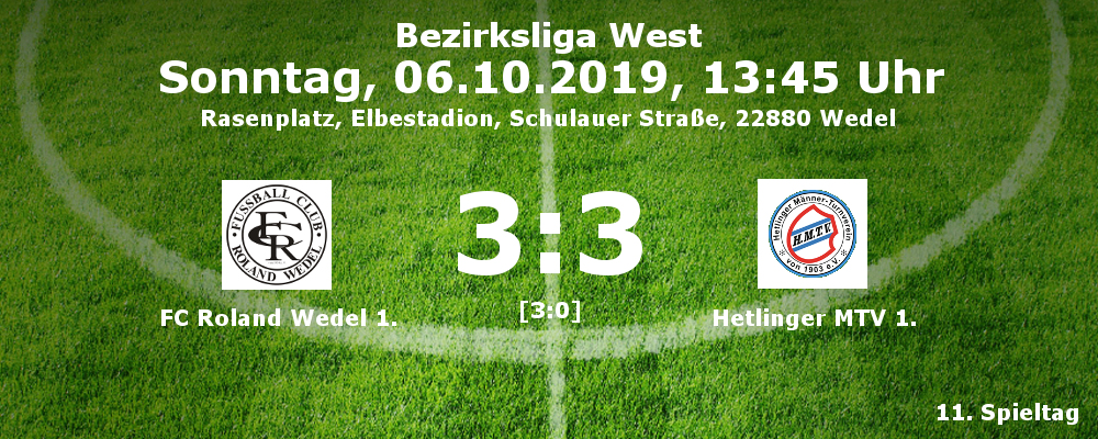 Liga 2019-20 FCR 1 - Hetlingen 1 am 06.10.2019