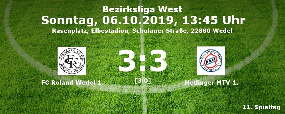 Liga 2019-20 FCR 1 - Hetlingen 1 am 06.10.2019
