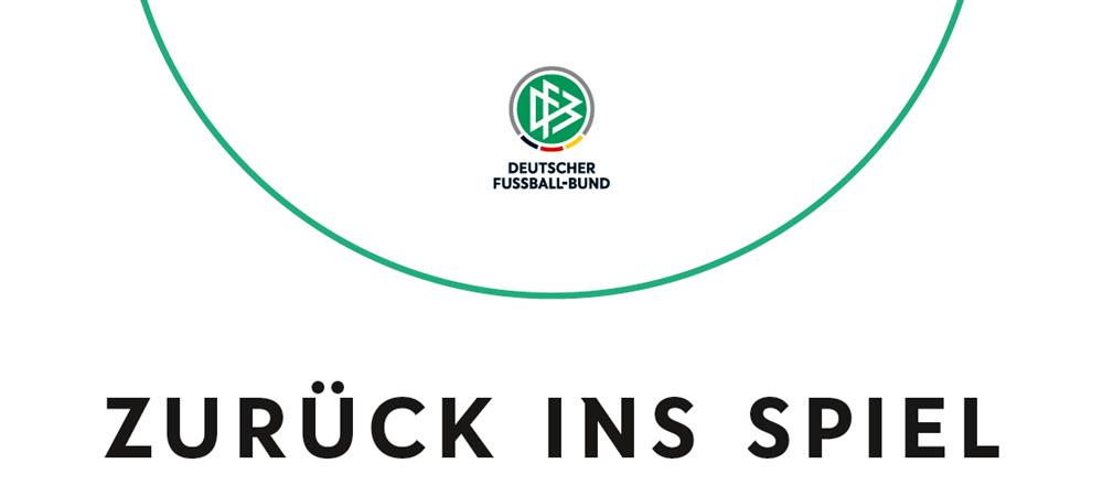 DFB-Hygieneregeln - Zurück ins Spiel