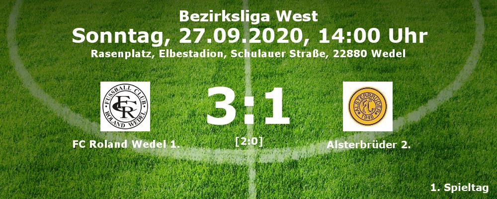Liga 2021-21 FCR1-Alsterbrüder2 amn 27.09.2020