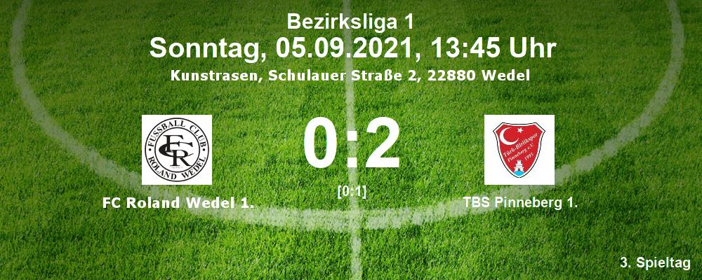 Bezirksliga 1, Saison 201/22, 3. Spieltag, FCR-TBS 0:2 (0:1) am 05.09.2021